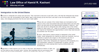 Thumbnail image of a page on Kashani Law dot com, with the address of https://kashanilaw.com/Default.aspx